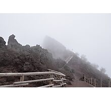 Through the fog and beyond! Photographic Print