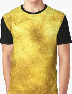 Gold Yellow Texture | Graphic T-shirt, case, wallet Graphic T-Shirt