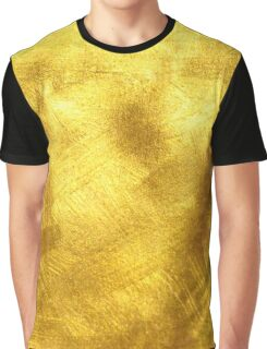 Gold Yellow Texture   Graphic T-shirt, case, wallet Graphic T-Shirt