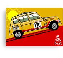 Renault 4 Sinpar 4x4 Canvas Print
