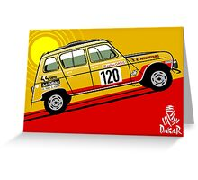 Renault 4 Sinpar 4x4 Greeting Card