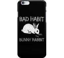 Bad Habit Bunny Rabbit iPhone Case/Skin