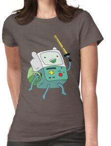 Adventure BMO Womens Fitted T-Shirt