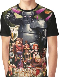 clash of clans fully 2016 nakula Graphic T-Shirt