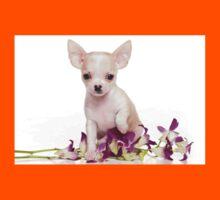 Glamorous chihuahua puppy dog cute Kids Tee