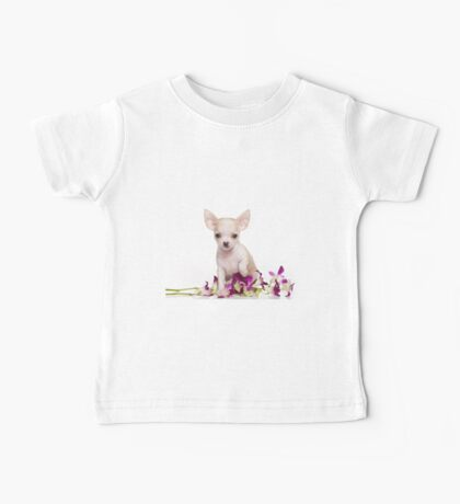 Glamorous chihuahua puppy dog cute Baby Tee