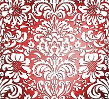 Floral Elegance - Colour Fade Pattern 2 by Ra12