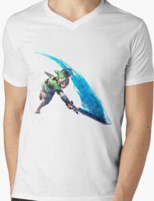 Zelda, link Mens V-Neck T-Shirt