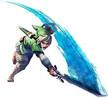 Zelda, link Photographic Print