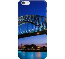 Sydney Harbour Bridge at Sunset iPhone Case/Skin