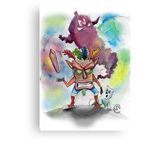 Crash is Back! Canvas Print