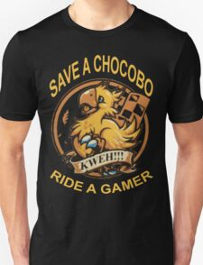 Save a Chocobo Unisex T-Shirt