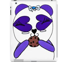 Violet Blue Panda Bear iPad Case/Skin