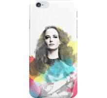 Portrait | Eva Green iPhone Case/Skin