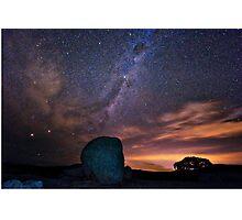 Milky Way Down Under Photographic Print