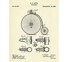 Velocipide-1888 Photographic Print