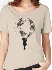 Earth Child (black) Women's Relaxed Fit T-Shirt