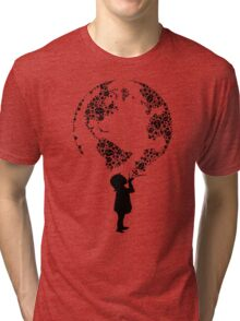 Earth Child (black) Tri-blend T-Shirt