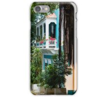 San Juan, Puerto Rico - Gorgeous Caribbean Colors and Flora iPhone Case/Skin