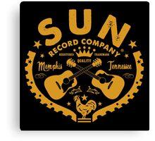 SUN RECORDS COMPANY Canvas Print