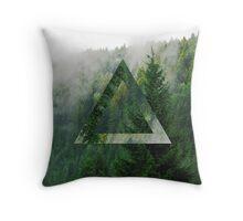 Forest twist Throw Pillow