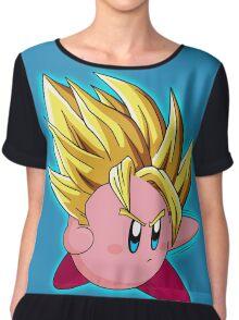 Kirby + goku Chiffon Top