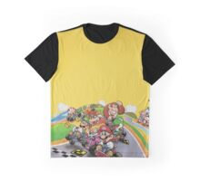 Mario Kart Extended illustration Graphic T-Shirt