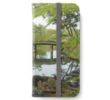 Japanese Water Garden iPhone Wallet/Case/Skin