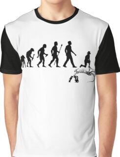 Funny Paleontologist Evolution  Graphic T-Shirt