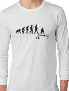 Funny Paleontologist Evolution  Long Sleeve T-Shirt