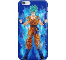 Goku Super Saiyan God  iPhone Case/Skin