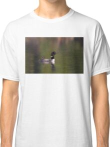 Wake-up call - Common loons Classic T-Shirt