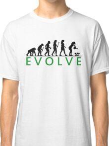 Funny Women's Gardening Evolution Classic T-Shirt