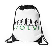 Funny Women's Gardening Evolution Drawstring Bag