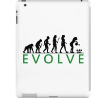 Funny Women's Gardening Evolution iPad Case/Skin