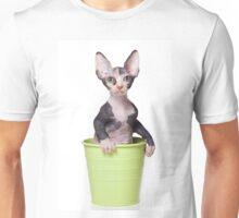Cute Bald sphinx cat kitten Unisex T-Shirt