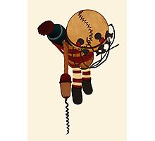 Big Daddy Bouncer Doll Photographic Print