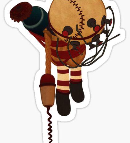 Big Daddy Bouncer Doll Sticker