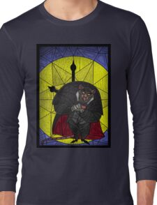 Steal the crown jewels - stained glass villains Long Sleeve T-Shirt