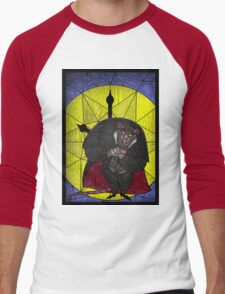 Steal the crown jewels - stained glass villains Men's Baseball ¾ T-Shirt