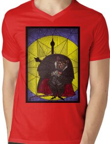 Steal the crown jewels - stained glass villains Mens V-Neck T-Shirt
