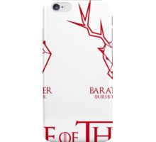 Medieval knight Houses iPhone Case/Skin