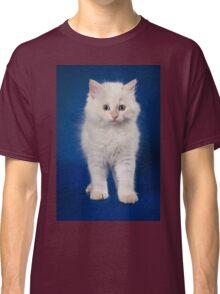 Fluffy charming cute kitty cat Classic T-Shirt