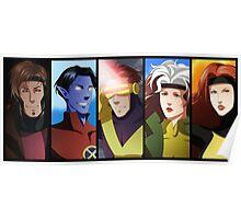 X-men anime style Poster