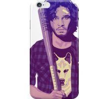 You know nothing baseball iPhone Case/Skin
