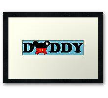 Daddy Mickey Framed Print