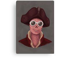 Fashionable Mayor Canvas Print