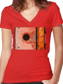 Zero Squared Women's Fitted V-Neck T-Shirt
