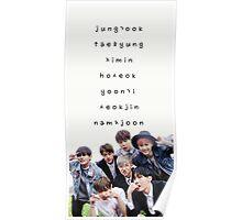 BTS phone case #14 Poster