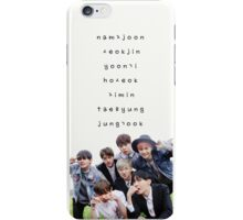 BTS phone case #15 iPhone Case/Skin